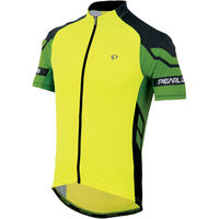 Pearl Izumi Men's, Elite Jersey, Screaming Yellow/Green Flash