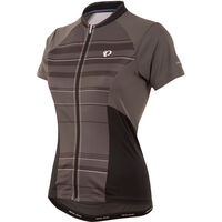 Pearl Izumi Women's, Elite Escape SS Jersey, Shadow Grey Stripey