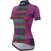 Pearl Izumi Women's, Elite Pursuit Ltd Jersey, Purple Wine Stripe