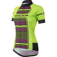 Pearl Izumi Women's, Elite Pursuit Ltd Jersey, Screaming Green Stripe
