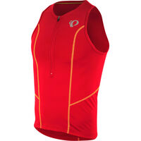 Pearl Izumi Men's, Select Pursuit Tri Singlet, True Red