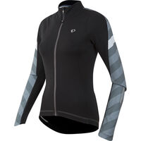 Pearl Izumi Women's, Elite Pursuit Thermal Jersey, Black Stripe