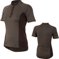 Pearl Izumi Women's, Select Escape Text Jersey, Black Herringbone