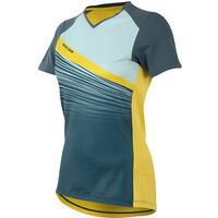 Pearl Izumi Women's, Launch Jersey, Blue Steel/Skylight Fracture