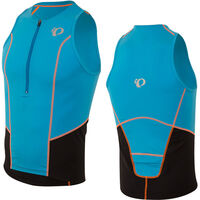Pearl Izumi Men's, Select Pursuit Tri Singlet, Bel Air Blue/Black