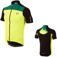 Pearl Izumi Men's, Elite Pursuit Jersey, Screaming Yellow/Black Rush