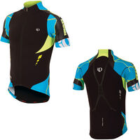 Pearl Izumi Men's, P.R.O. Leader Jersey, Black / Electric Blue, S
