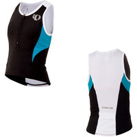 Pearl Izumi Junior, Tri Singlet, Black/Electric Blue