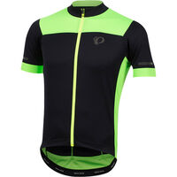 Pearl Izumi Men's ELITE Escape Semi Form Jersey Black/Screaming Green