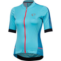 Pearl Izumi Women's ELITE Pursuit Speed SS Jersey Aqua Blue Diffuse