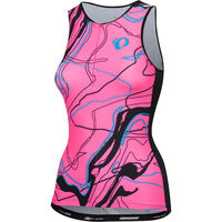 Pearl Izumi Women's ELITE Pursuit Graphic Tri Singlet Screaming Pink Composite