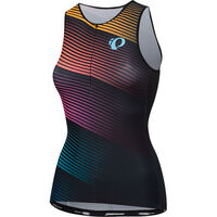 Pearl Izumi Women's ELITE Pursuit Graphic Tri Singlet Diffuse Prism