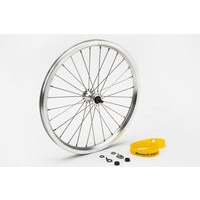 Brompton Front wheel radial lacing incl fittings - Standard (Silver)