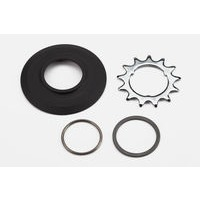 "Brompton ""Sprocket set incl chain guide disc 3/32"""" 3-spline - 13T (3-spd)"""