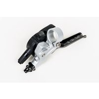 Brompton DR Gear Shifter with integrated brake lever LHS - 2 Speed (Silver/Black) (2017 - )