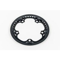 Brompton Replacement Chain ring + Guard only  - Spider type -  44T (Black)